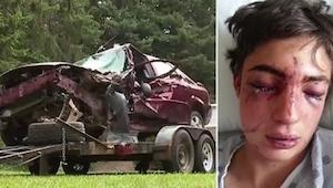 Auto kolaroi hänen ajotiellään. Tiedämme tämän perimmäisen syyn liian hyvin.