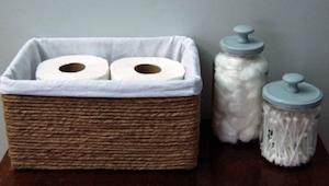 Miten muuttaa pahvilaatikko joksikin, minkä jokainen meistä haluaisi kylpyhuonee