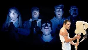 Pentatonix teki a cappella-version kappaleesta Bohemian Rhapsody. Tämä on jotain