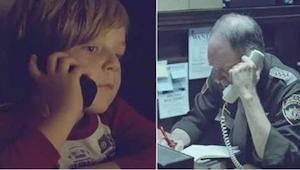 Poika soittaa poliisille etsiessään äitiään, joka on taivaassa. Se mitä poliisi