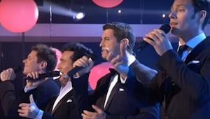 Se kuinka nämä neljä miestä laulavat Whitney Houstonin kappaleen, on ilahduttava