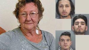 77-vuotias oli nostamassa rahaa automaatista, kun kolme miestä lähestyi häntä. H