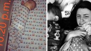 Tämän yleinen makuuhuoneen esine vei hänen seitsemän kuukauden ikäisen poikansa
