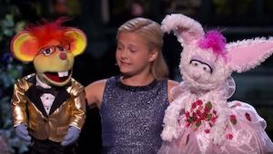 Laulava vatsastapuhuja ylittää itsensä Talent-ohjelman finaalissa!