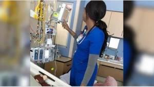 Sairaanhoitaja ei ajatellut pienen potilaansa vanhempien näkevän sitä, mutta lop