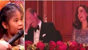 Pikkutytöllä oli erikoinen pyyntö prinssi Williamille. Väkijoukon iloksi, hän to