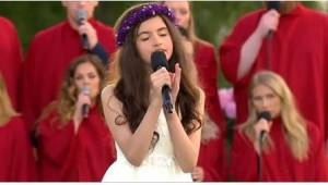 12-vuotias laulaa Elvis Presleyn klassikkoa ja hämmästyttää kaikki ainutlaatuise