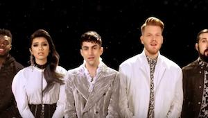 Elvis Presleyn hitti Pentatonixin esittämänä saa aikaan kylmät väreet