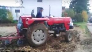 He eivät halunneet viedä autojaan pois maanviljelijän tontilta - kosto on huvitt