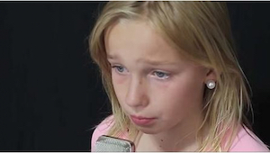 11-vuotias kirjoitti laulun. Seitsemän sekunnin kuluttua tajusin, miksi hän kert