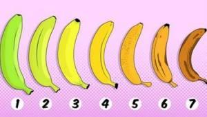 Minkä banaanin valitsisitte? Vastauksellasi voi olla vaikutus terveyteesi!